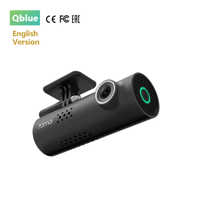 Englisch Version 70Mai 1S Smart WiFi Drahtlose Dash Cam Voice Control 130 Grad 1080P 30fps Auto DVR Dash <span class=keywords><strong>kamera</strong></span>