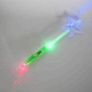 Wholesale custom concert toy PMMA star led flashing light stick for party