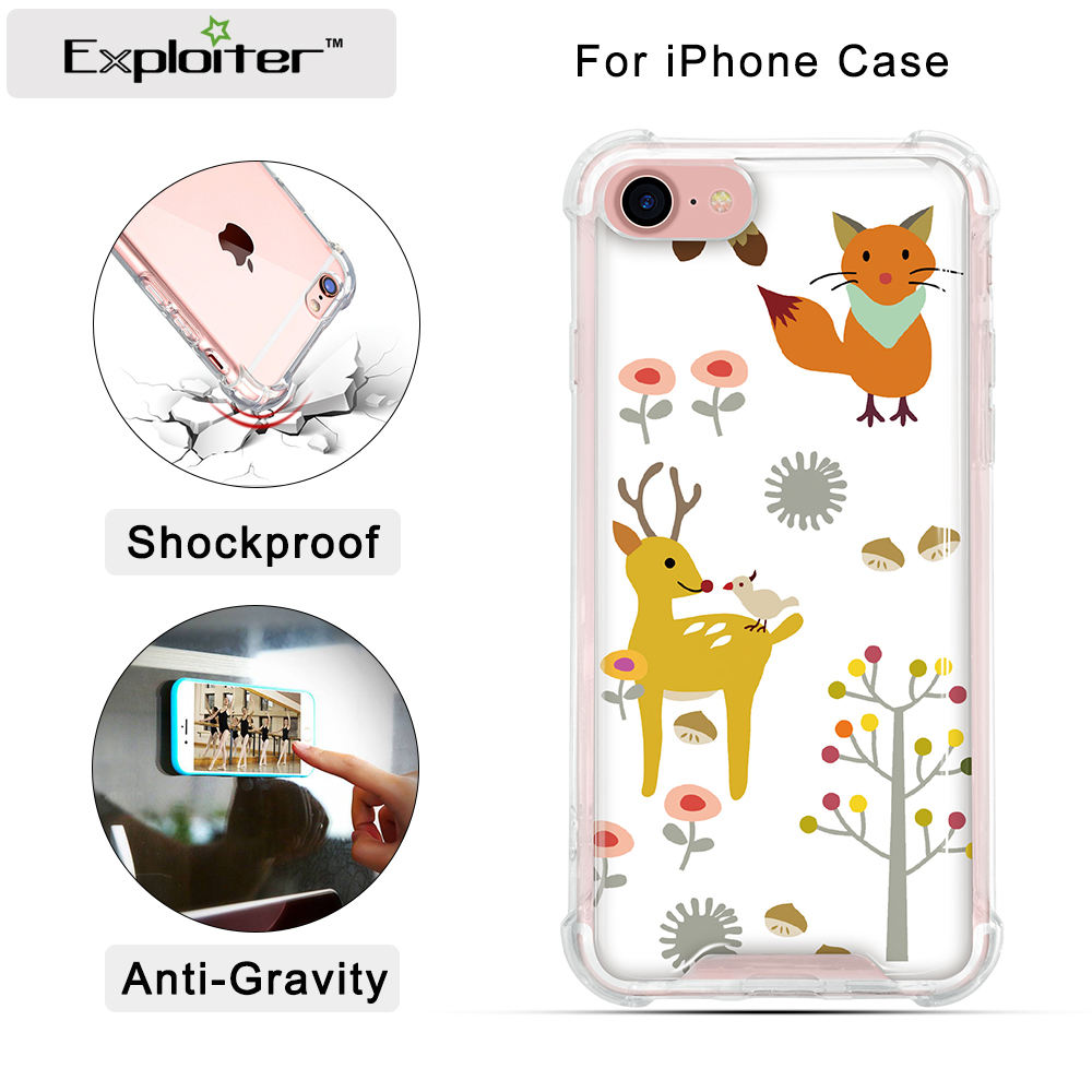 Explorador designer celular caso capas para alcatel one touch pop c7