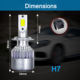 12v 36w 7000k c6 h4 LED h7 h8 h9 h11 9005 9006 car fog light bulb lamp xenon white car auto head lamp h4 C6 led headlight