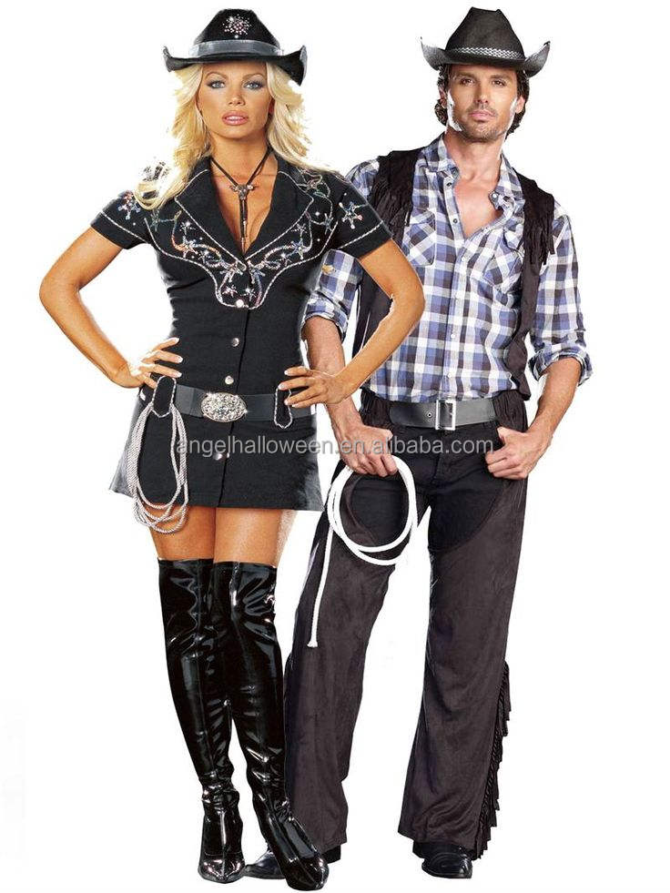 Fashion Cool Sexy Design Top Sale Best Price Men Cosplay Carnival Cowboy Costume AGM4106