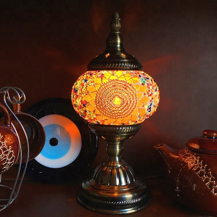 Tokin Exquisite Turkish Energy Saving Table Lamp