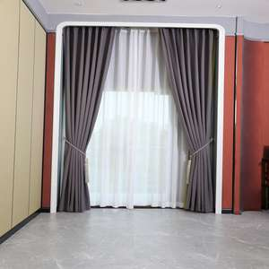 Professional Motorized Hotel Drapes blackout curtains hotel