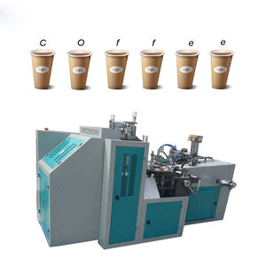 Factory price automatic ripple paper cup hollow sleeve machine