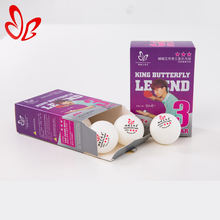 Factory Wholesale Table Tennis Ball Ping Pong Ball