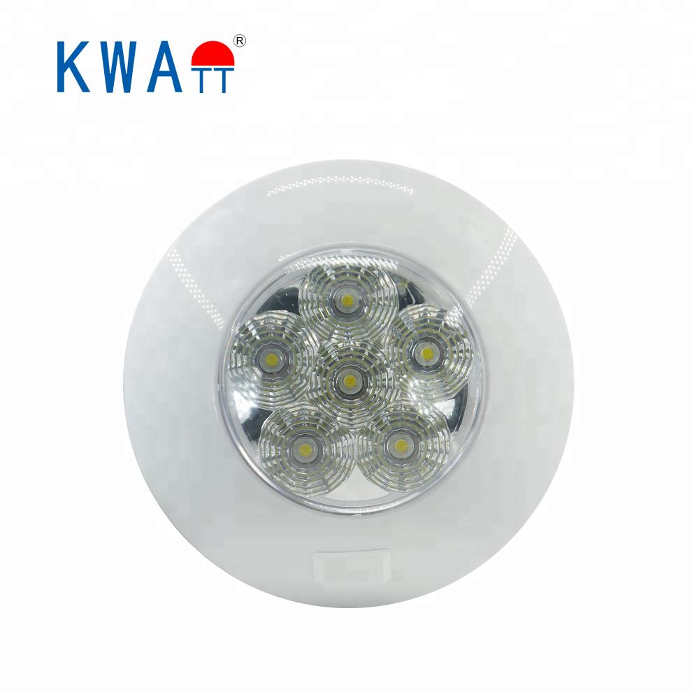 MOTORHOME CAMPERVAN INTERIOR ROTATABLE 30 LED STRIP LIGHT WHITE 300LM 12V 24V DC