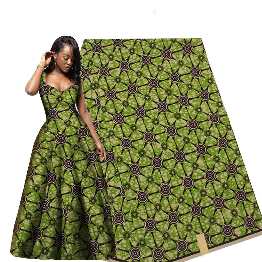 Latest 100% cotton cogon design java ankara wax plain african fabric