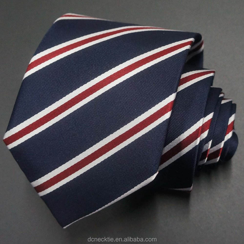 navy regimental striped tie brand name necktie