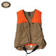 wholesale custom heated orange camo leather hunting vest outdoor
