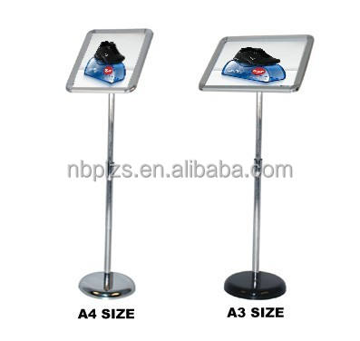 Freestanding poster and sign stand,sign holder