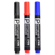Wholesale price Twin tip permanent marker pen,eco-friendly non-toxic permanent marker, easy-dry thin Marker pen