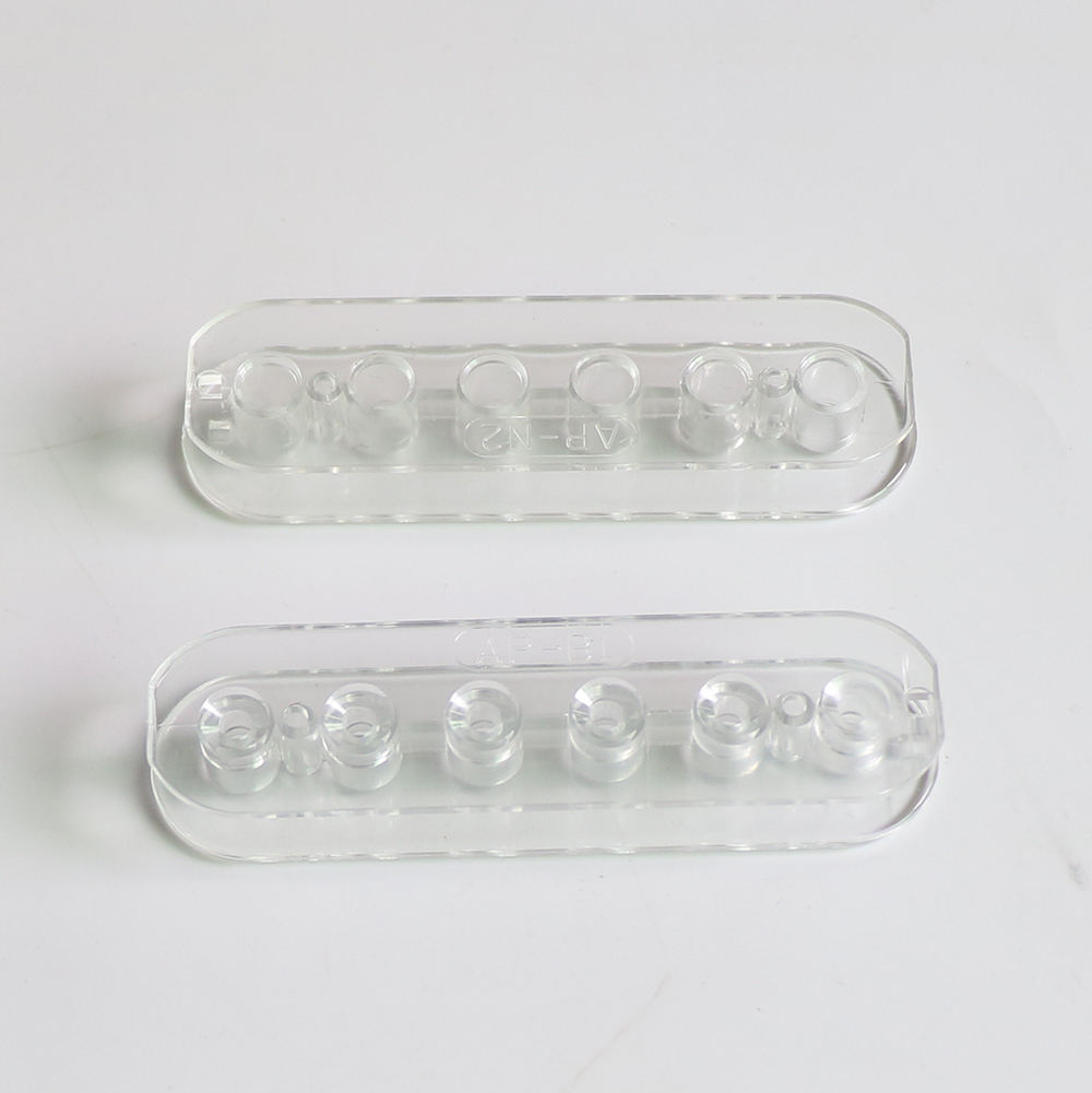 Transparent Clair Humbucker guitare Canette pour Électrique Humubucker Pick-Up kits