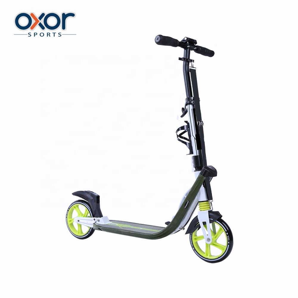 Factory Direct Supply Two Wheel Stand Up Foldable Adult Step Scooter