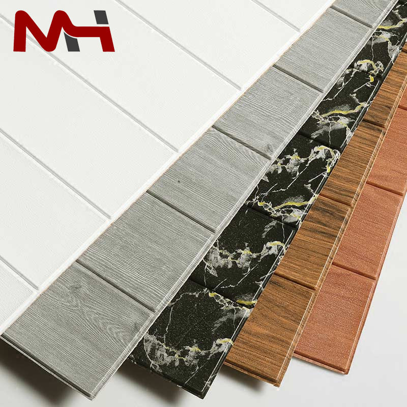China Factory Cheap Price Wallpapers Self Adhesive 3D PE Foam wood plank wall decorative wall sticker