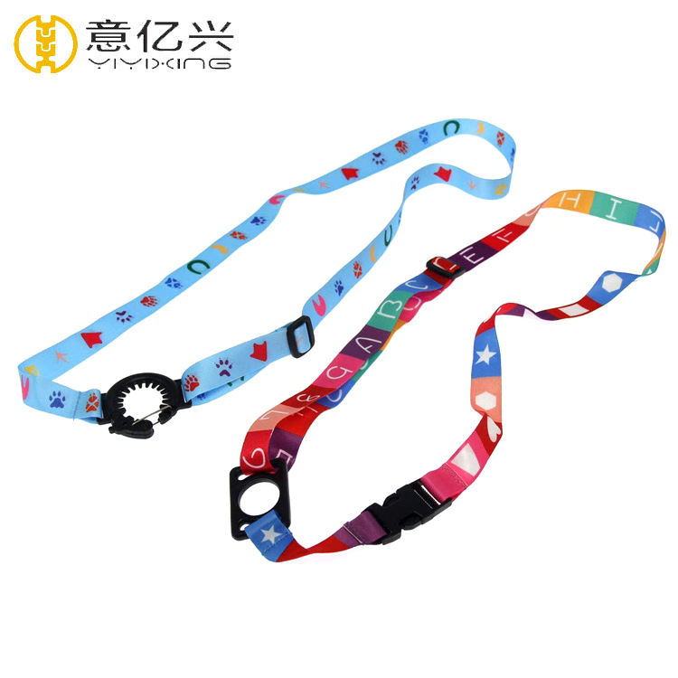 Custom Adjustable Water Bottle Holder Neck Lanyard Strap With Different Kinds