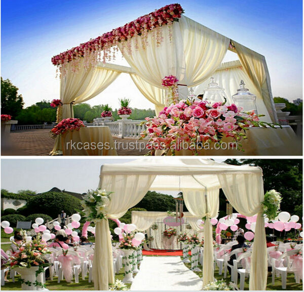 Wedding Event Supplies Portable Fabric Backdrop Decor Pipe And Drape wedding draping material
