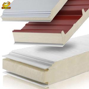 Metal foam core eps sandwich roofing panels