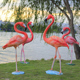2018 Hot Selling Resin Life Size Flamingo Sculpture For Zoo