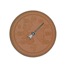 New terracotta outdoor indoor thermometer garden greenhouse wall thermometer