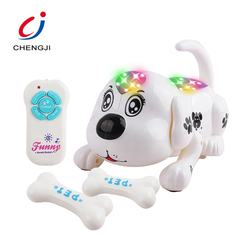 Electronic pet intelligent  funny remote control interactive robot dog rc