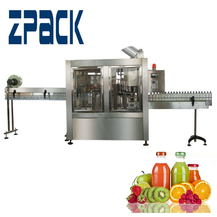 carbonated beverage beer bottling machine/juice bottling machine/small scale juice filling machine