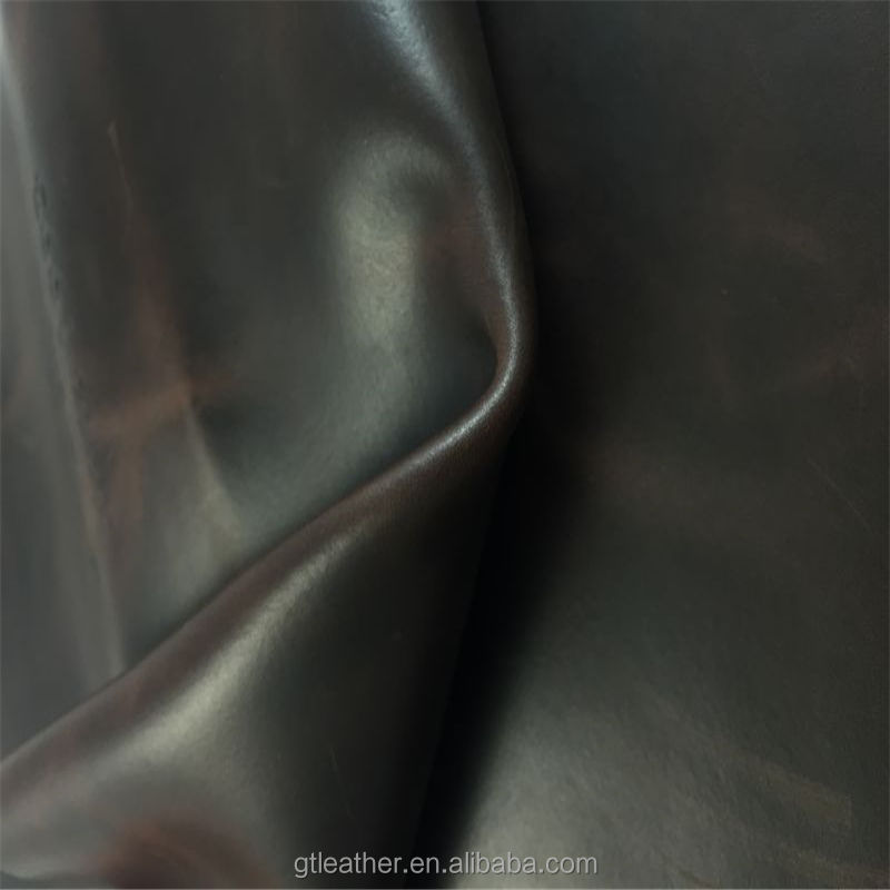 split pigmented leather close to full grain leather