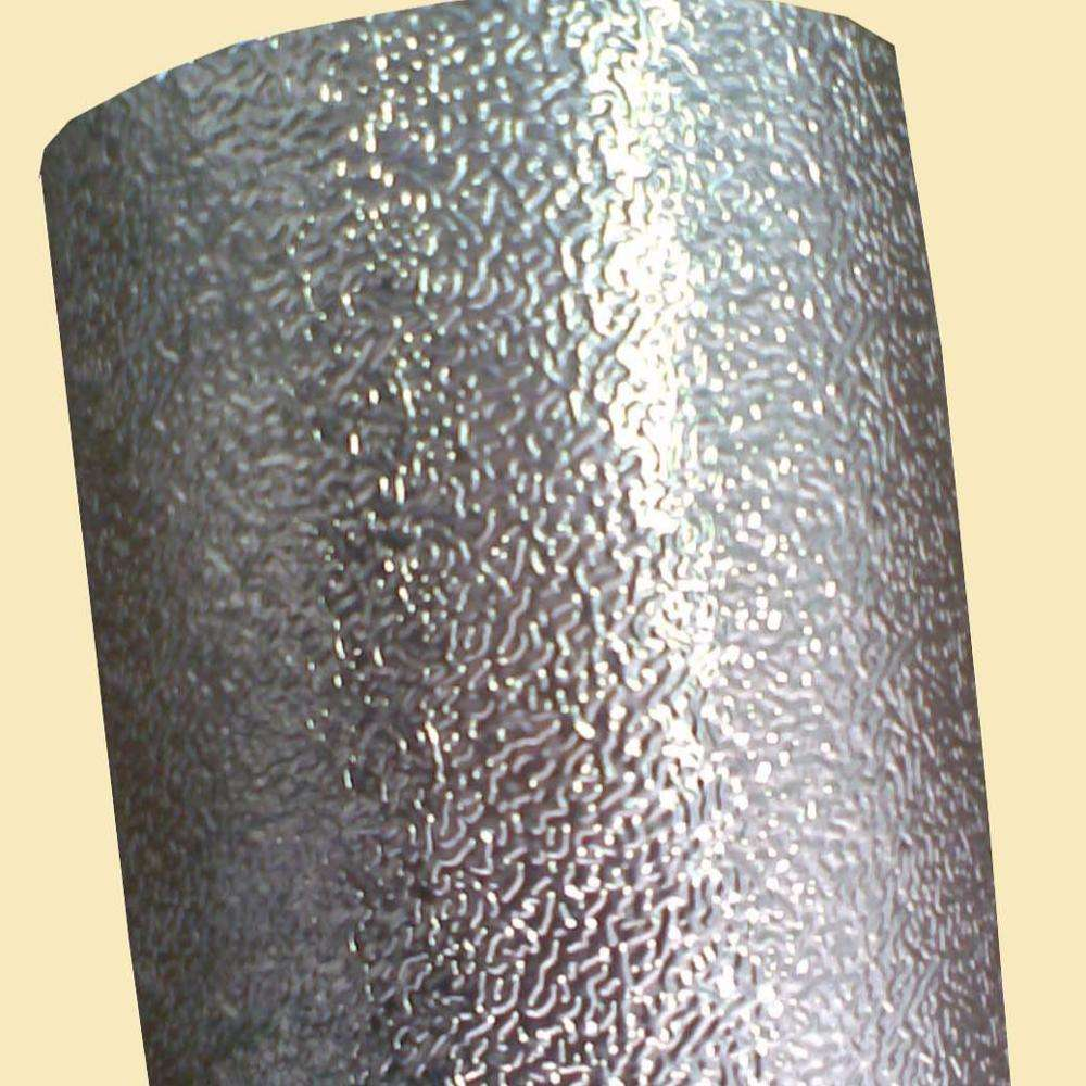 embossed aluminium polyethylene foil for polyurethane insulation panel