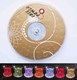 High quality colorful LED flash coaster /flash frink coaster/led flash bottle coaster
