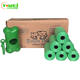 360pcs Eco Friendly Biodegradable Dog Poo Waste Bags On A Roll
