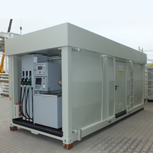 Portable Fuel Tank Gas Station Mobile Petrol Station container petrol station