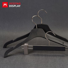 manufacture plastic clothing hanger for sport cloth suit