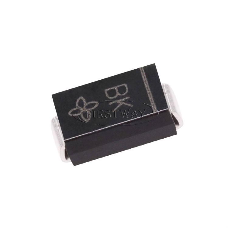 SMAJ26CAQ-13-F Pack of 100 ESD Suppressors//TVS Diodes 400W Transient Voltage Suppressor,