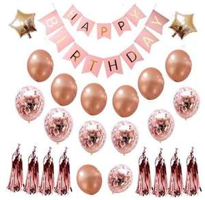 New design party decoration 12inch 18inch clear rose gold transparent latex confetti balloons