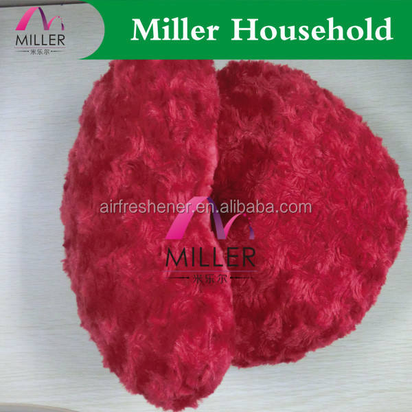 Bedding [ Plush Pillow ] Design Pillow New Product Aroma Scented Red Heart Shape Decorative Plush Pillow