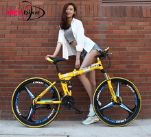 New fashion 21/24 Speed Mountain bicycle Carbon steel and aluminum alloyr Road Bike