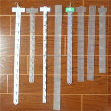 Store the commodity display hanging plastic light clip strip