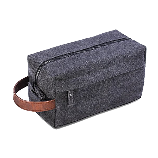 Custom wholesale waterproof mens travel toiletry bag
