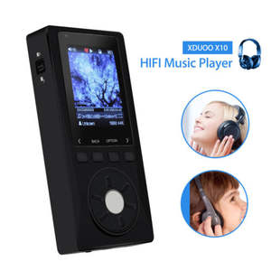XDuoo X10 HIFI Lossless Stereo Music Player USB MP3 Player WMA FLAC Support 256G