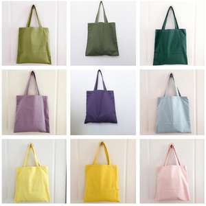 OEM Biodegradable Natural Organic Tote Canvas 100% Recycled Cotton Bag