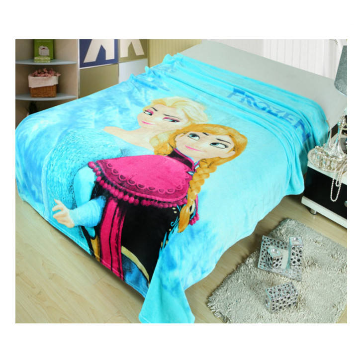 Cartoon Soft Flannel Blanket Children Soft Throw Blanketギフト毛布卸売