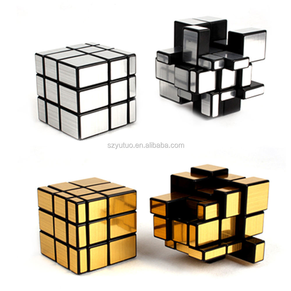 Wholesale ABS Abnormity Of Third-Order mirror cube educational toy magic mirror puzzle cube