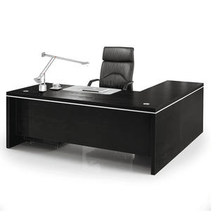 Boss Ceo Manager Table Design MFC Melamine Executive Desk For Office Furniture