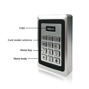 security RFID EM card metal standalone access control system