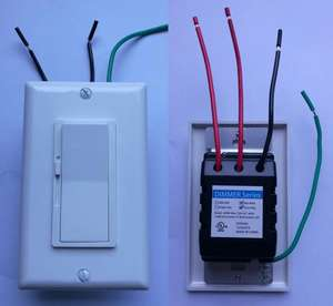 Kami/Amerika 120 V AC 60Hz Single/3 Cara LED Dekorator Dimmer Switch untuk Lampu LED