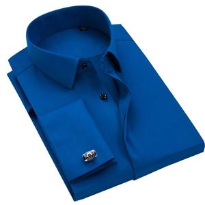 OEM MTM made to measure Custom 100% Cotton Long Sleeve Classic Men Formal Dress Shirt for Business Made in China