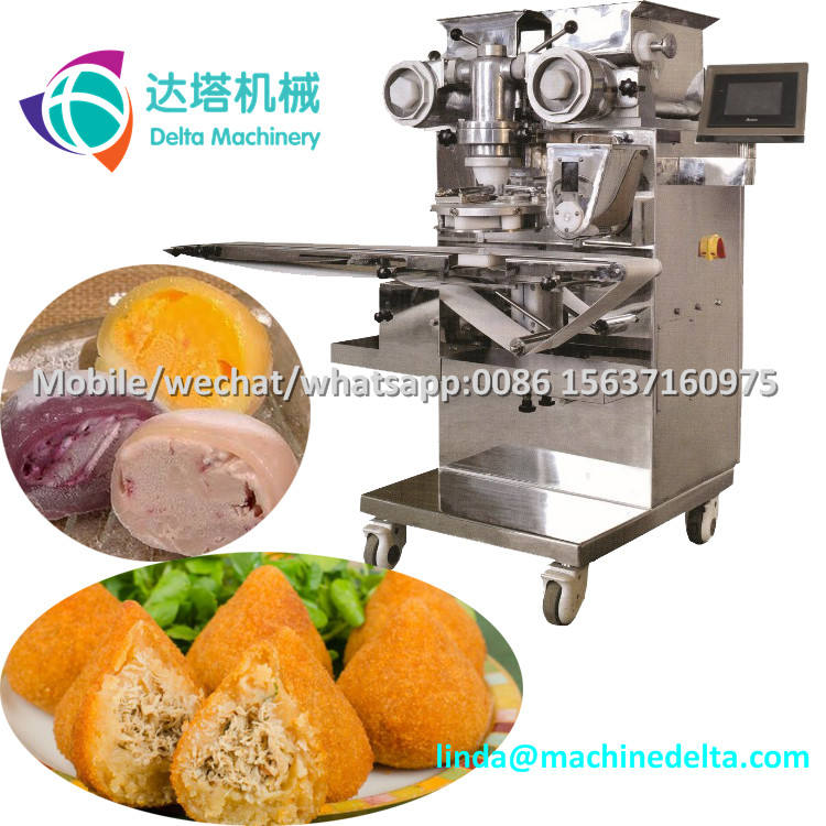 Automatic Encrusting Machine for Falafel Making/Food Production Machinery