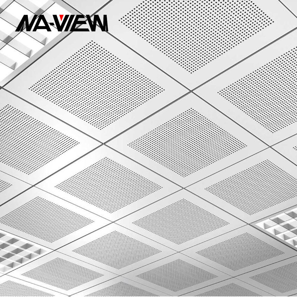 integrated ceiling panel tiles board design