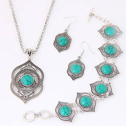 New design insect turquoise in the zinc alloy double peaches