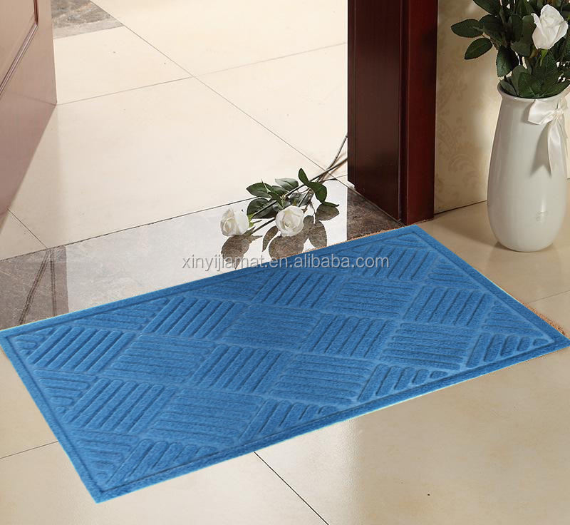 "Gorilla Grip Duurzaam Pvc Backed Deur Mat, 16 ""* 24"", Heavy Duty Deur Mat, indoor Outdoor, Water Proof"