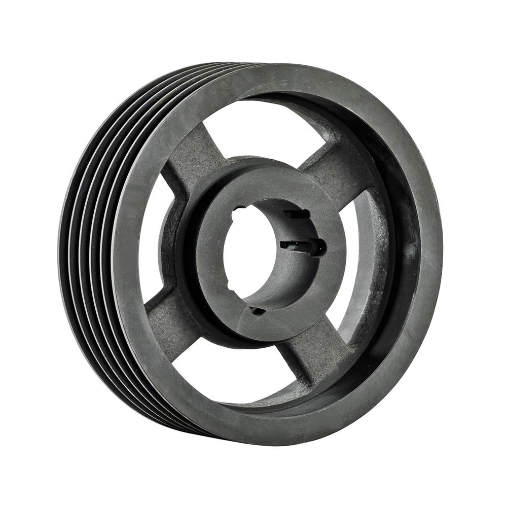 Pulley custom groove sizes plastic aluminum steel roller taper lock bush cast iron agriculture parts drive v belt pulley sheave